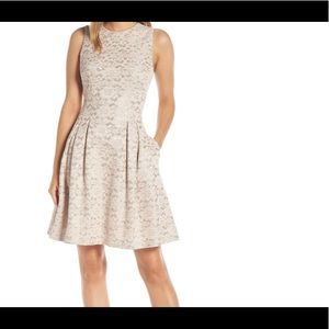 Vince Camuto Fused Lace Dress